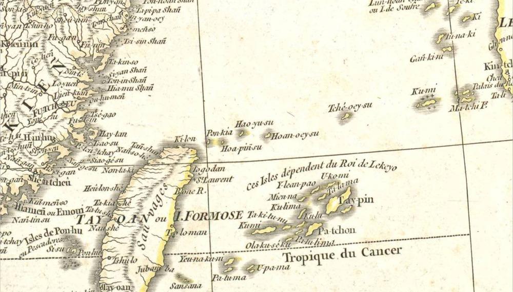 切取1752ダンビル圖スペイン文部省