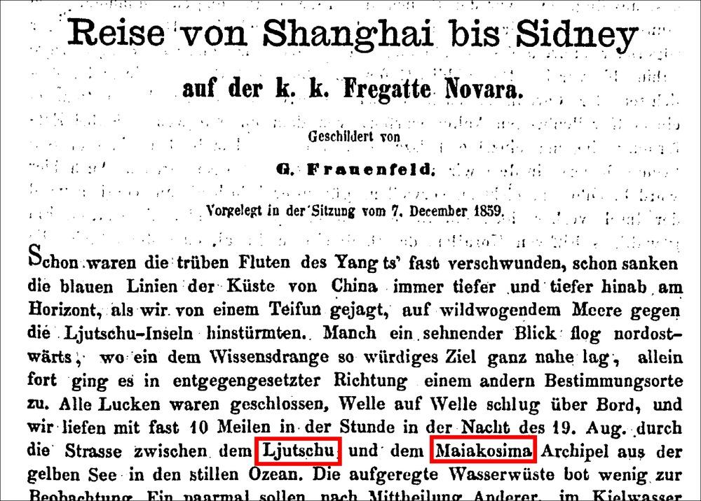 圖141Frauenfeld著1859Reise_Shanghai_Sidney_Fregatte_Novara