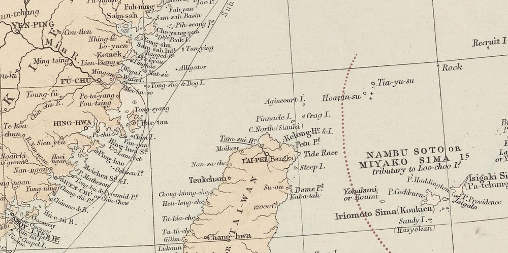 圖1_澳洲藏1887Stanford_China