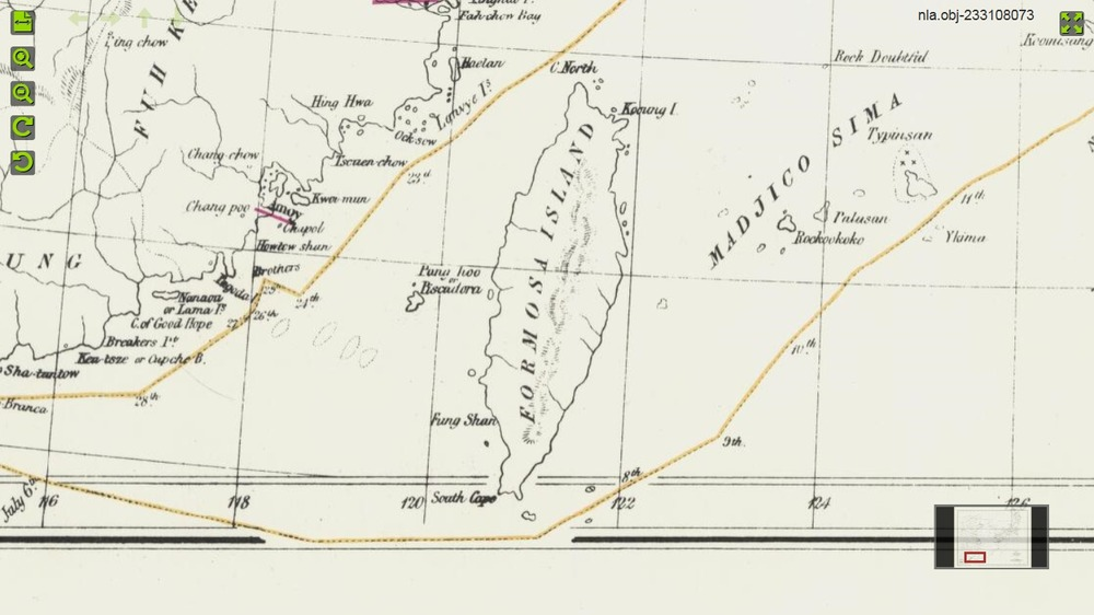 Arrowsmith_Tract_of_Morrisons_voyage_in1837