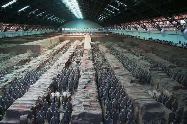 兵馬俑是希臘人幫中國製造的4