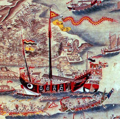 琉球進貢船