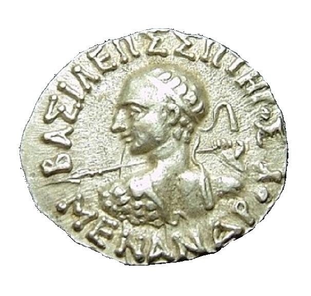 ミリンダ王コイン