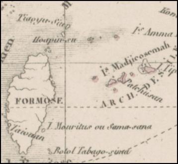 Levasseur1876_1875尖閣淡桃_Carte_Particuliere_Polynesie_豪T258