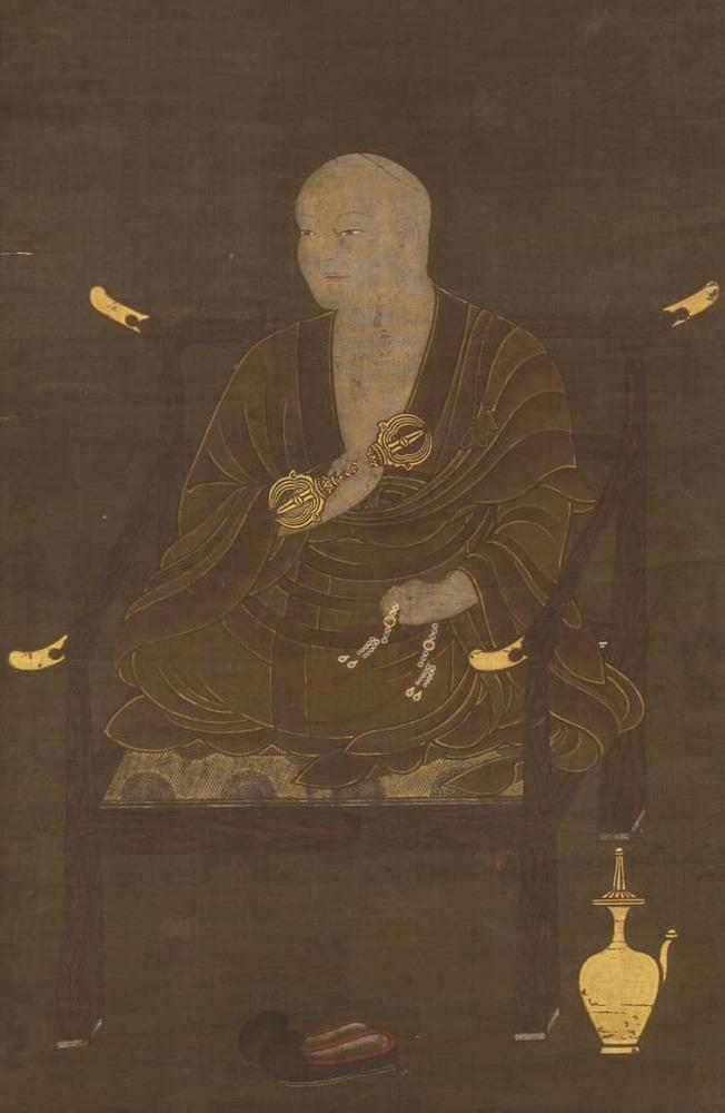空海像_センチュリー文化財團藏