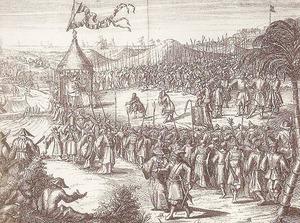 1662揆一向鄭成功投降網路資料