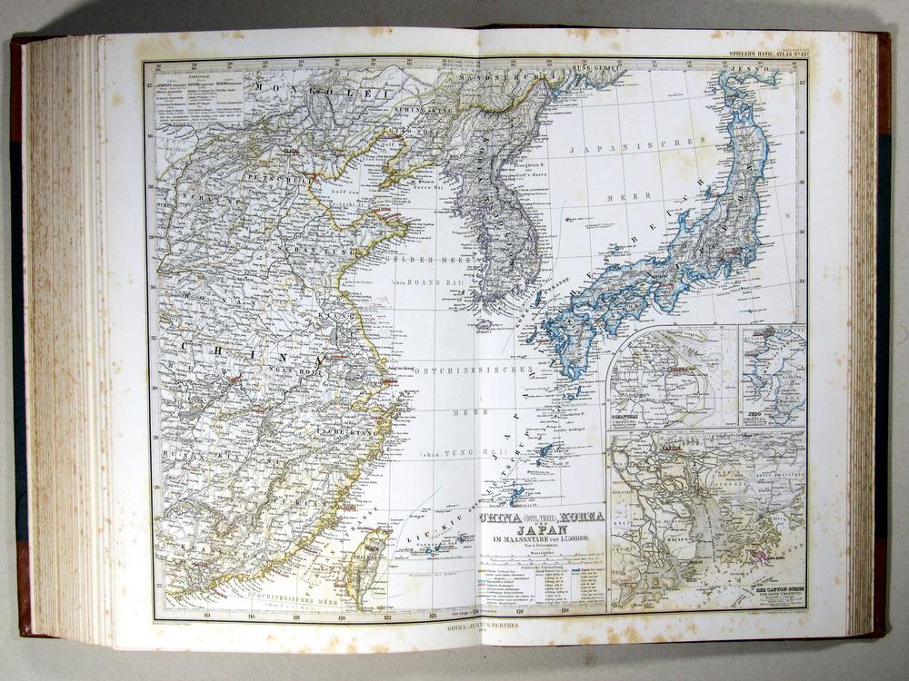 Stieler1869_ChinaKorea_und_Japan