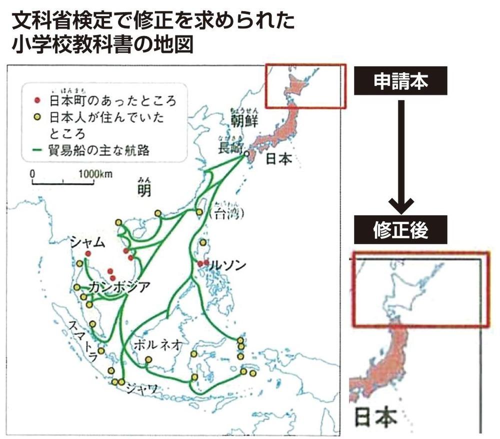 教科書北海道領土産經