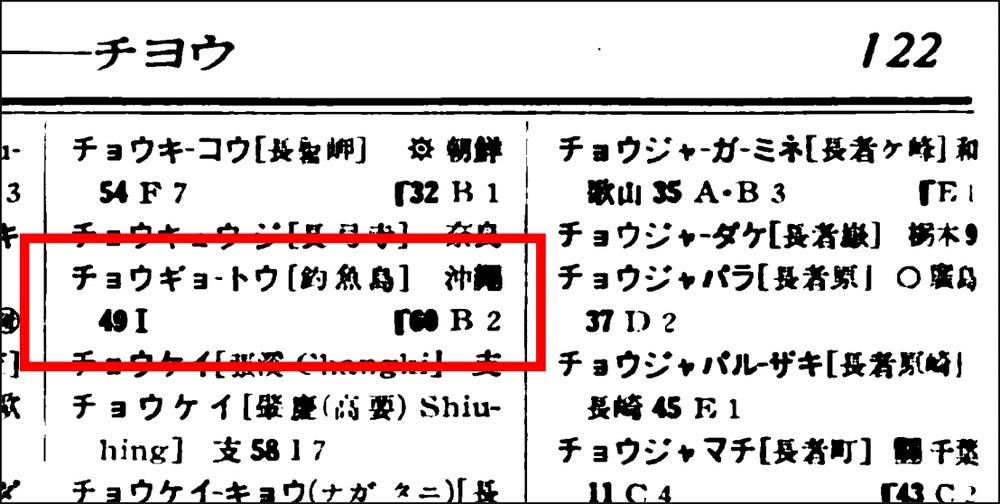 國民大百科辭典別卷索引釣魚島1
