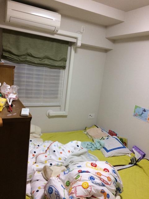 間取図洋室(1)寝室→万年床タンス大人の_180714_0004