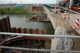猫塚橋拡張工事