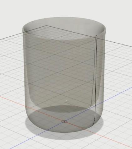 10_材質をガラスにして形状確認し完成0410