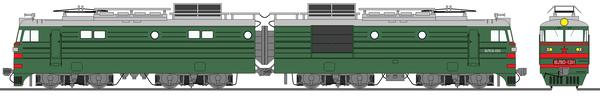 ソ連国鉄ВЛ10形電気機関車