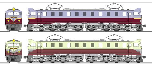 日本人民共和国交通建設省ЭФ58形電気機関車(8/23追記)