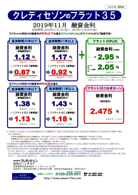 【買取型】2019年11月金利表_ページ_1