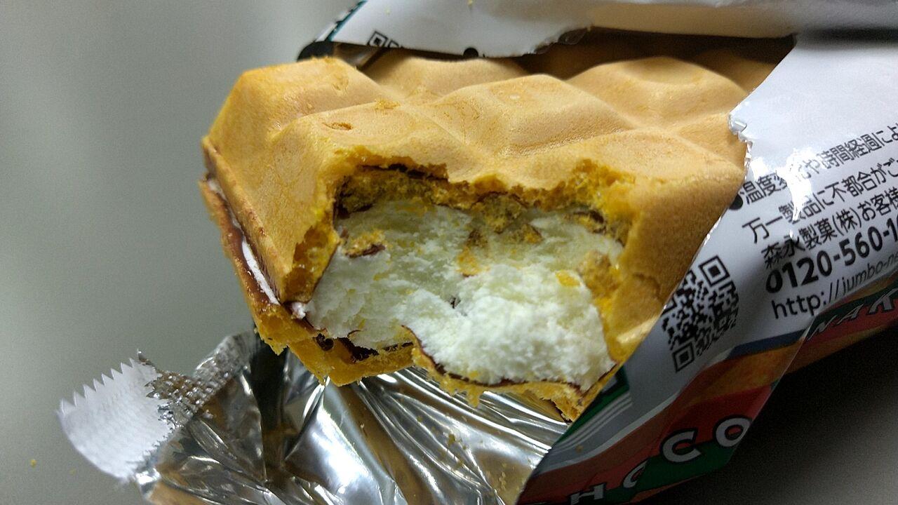 食べ ジャンボ 美味しい 方 モナカ チョコ