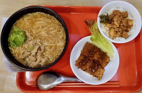 台湾麺線(臺灣麺線)@新橋五丁目 朝食やってます!!