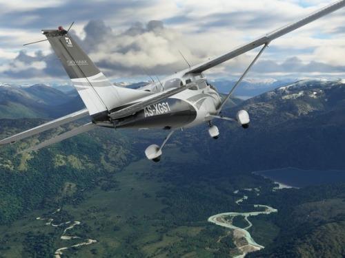 【朗報】マイクロソフトの飛行機ゲーム、実在する家に飛行機を墜落させることが可能に