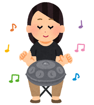 music_handpan_woman