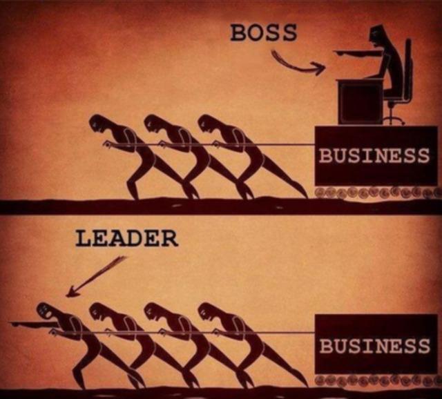 【画像】リーダーとボスの違いが一発でわかる画像がこちらWWWWWWWWWWWWWWWWWWWWWWWWWWWWWWWW