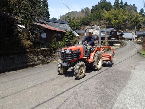 2017年4月の記録4 初トラクター編