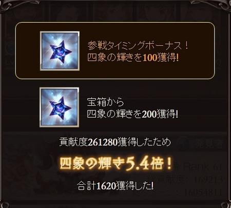 グラブル 四象降臨 ゼピュロス討伐戦2