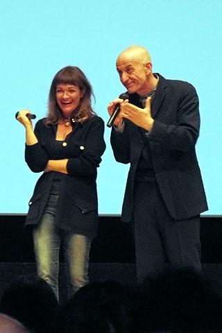 Paola Randi e Peppe Servillo a Tokyo 2012