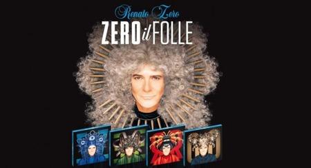 Renato Zero - Zero il folle(2019_4copertine-0)