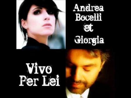 Andrea Bocelli e Giorgia