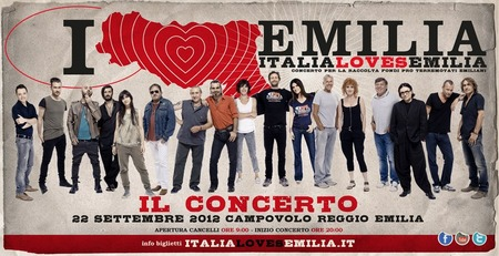 ItaliaLovesEmilia+14Artisti