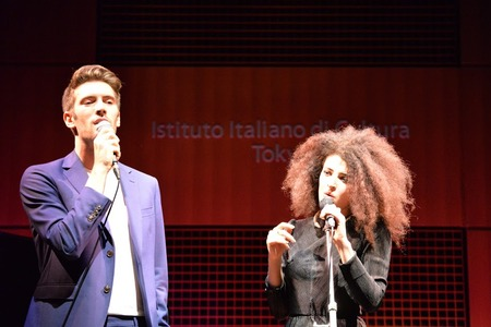 Giovanni Caccamo e Marianne Mirage
