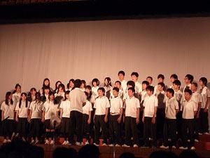 1学年「合唱コンクール」