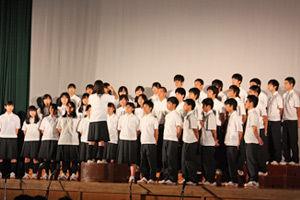 003_西高祭_1-3 自由曲「3月9日」