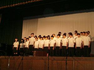 046_西高祭_1年合唱コンクール(2位)1-3 自由曲「3月9日」