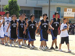男子 バスケットボール部