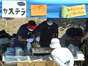 3-3 模擬店「サモアナようこ(ベビーカステラ)」
