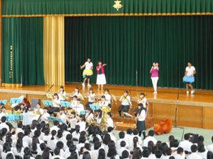 吹奏楽部 舞台発表「夏色」