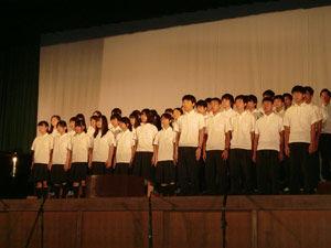 047_西高祭_1年合唱コンクール(3位)1-5 自由曲「Story」