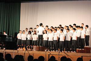 004_西高祭_1-4 自由曲「ひまわりの約束」