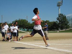 �200m走・決勝2