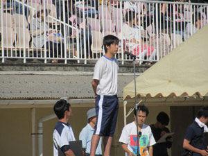 (3)体育委員長挨拶