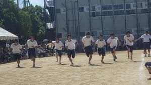 4×200M3年男子予選