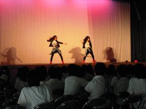 ダンス同好会-舞台・展示-舞台発表-ライブパフォーマンス