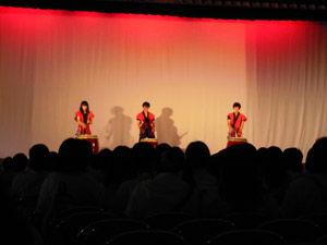 11_生徒会有志-舞台発表-和太鼓演奏