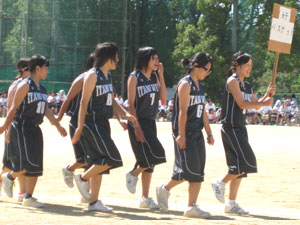 女子 バスケットボール部