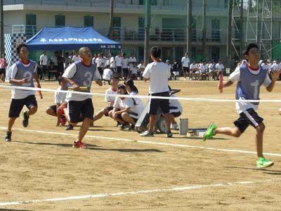 021_第39回体育大会_4×200mR・予選(男子)-02