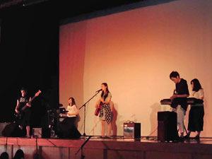 027_西高祭_フォークソング部 舞台演奏「フォークソングブLIVE」