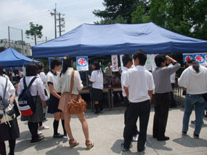 2-8模擬店・展示「シタハラハウス」かき氷販売
