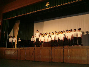 045_西高祭_1年合唱コンクール(1位)1-1 自由曲「未来」