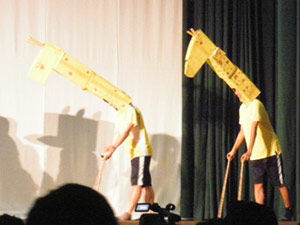 020_西高祭_3-5 舞台発表「ライオンキング」